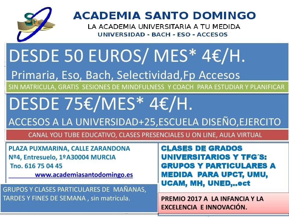 www.academiasantodomingo.es/accesos+25