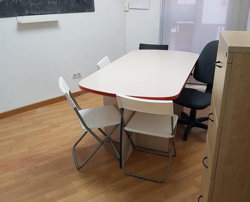 alquiler de aula o despacho , de capacidad hasta 6 personas